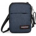 Eastpak Buddy Umhängetasche 18 cm Blau Double Denim Schuhe & Handtaschen