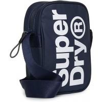 Superdry Citybag SIDE BAG Navy SizeONE SIZE Schuhe & Handtaschen