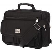 XL Umhängetasche Flugbegleiter Tasche Messenger Arbeitstasche DIN A4 Messenger M Schuhe & Handtaschen