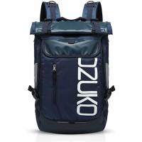 FANDARE Rucksack Bergsteigen Schulrucksack Rolltop Daypacks für 15.6 Zoll Laptoptasche Herren Damen Rucksäcke zum Reise Wandern Camping Schulranzen Schultasche Daypacks Blau Koffer Rucksäcke & Taschen