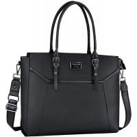 MOSISO Laptop Tote Bag für Frauen PU Leder Business Koffer Rucksäcke & Taschen