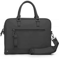 The Friendly Swede Laptoptasche 13 Zoll minimalistische Arbeitstasche Businesstasche Aktentasche Herren und Damen Veganes PU - VRETA - mit Schultergurt Koffer Rucksäcke & Taschen