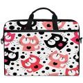 HaJie Laptop-Tasche süßes buntes Katzenmotiv mit Koffer Rucksäcke & Taschen