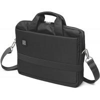 Moleskine ID Kollektion Horizontaler Messenger Bag mit Schultergurt Gerätetasche für PC Tablet Notebook Laptop und iPad bis 13'' - Maße 35 x 9 5 x 27 cm schwarz Moleskine Koffer Rucksäcke & Taschen