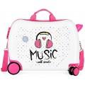 Roll Road Music Kindergepäck 50 Centimeters 34 Mehrfarbig Multicolor Koffer Rucksäcke & Taschen