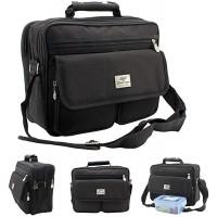 Schultertasche Aktentasche Flugbegleiter Laptop Umhängetasche Business Messenger Bag Notebook Tasche Black NEU Koffer Rucksäcke & Taschen