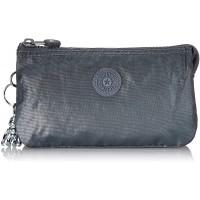 Kipling Damen Creativity L Münzbörse Silber Steel Grey Gifting Schuhe & Handtaschen