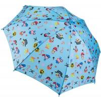 Dr. Neuser Kinder Regenschirm Umbrella Stockschirm Schirm Kinderschirm FarbeHellblau Koffer Rucksäcke & Taschen