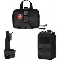 Xidan Taktische Molle Beutel Multi-Zweck-EDC Militär Nylon Hüfttasche Utility Tasche Abnehmbare Patches Beutel für Hund Weste Harness Koffer Rucksäcke & Taschen