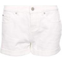 Superdry Damen Steph Boyfriend-Shorts Denim-Optik Weiß 34 Bekleidung