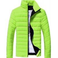 VECDY Herren Jacken Räumungsverkauf-Herren Männer Cotton Stand Zipper warme Winter dicken Mantel Jacke Lässige warme Jacke stattliche Strickjacke Bekleidung
