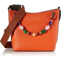 Gabor Schultertasche Damen Orange Vina 39x14x30 cm Tasche Shopper Schuhe & Handtaschen