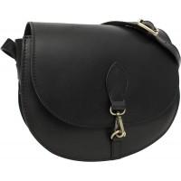 Gusti Umhängetasche Damen Leder - Wiebke Handtasche Ledertasche Schultertasche Damen Schwarz Schuhe & Handtaschen